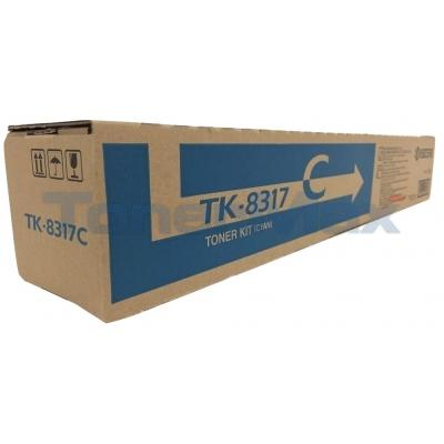 KYOCERA MITA TASKALFA 2550CI TONER KIT CYAN
